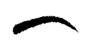 Augenbrauenform-herzförmiges-Gesicht